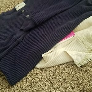Long sleeve thermal with boy short bloomer